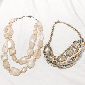 Necklace Lot two